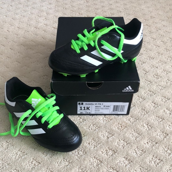 new concept dbd68 6deae Adidas Goletto Soccer Cleats